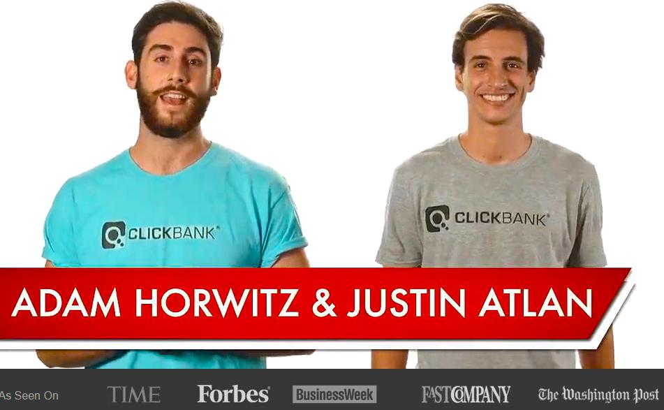 De Cero Al Exito En Clickbank! La Historia De Adam Horwitz Y Justin Atlan