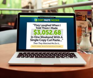 Copy Paste Income La Formula Para Generar Dinero En Línea Y De Forma Rápida Ya Está Aquí
