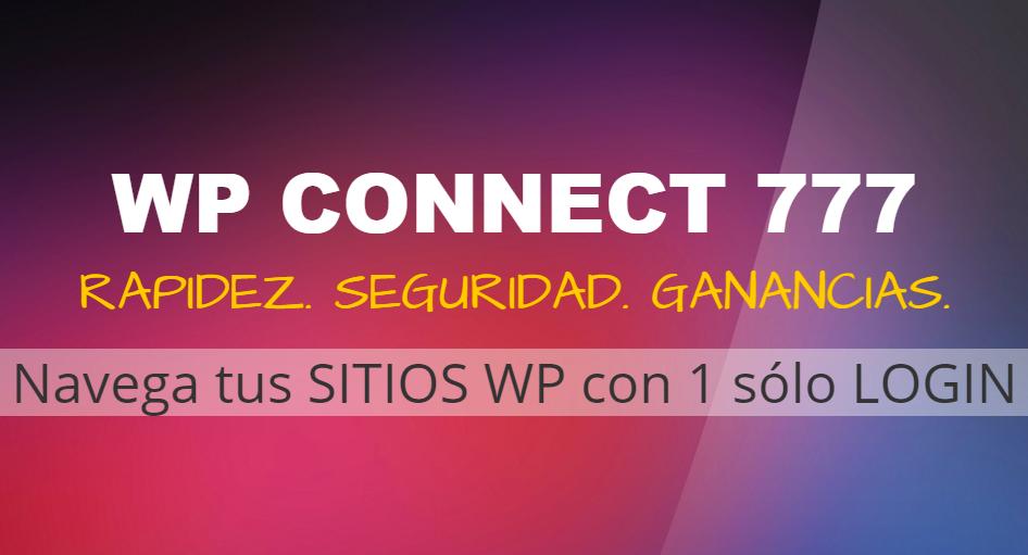 Descubre Por Qué WP CONNECT 777 Cambiará Tu Forma De Hacer Negocios